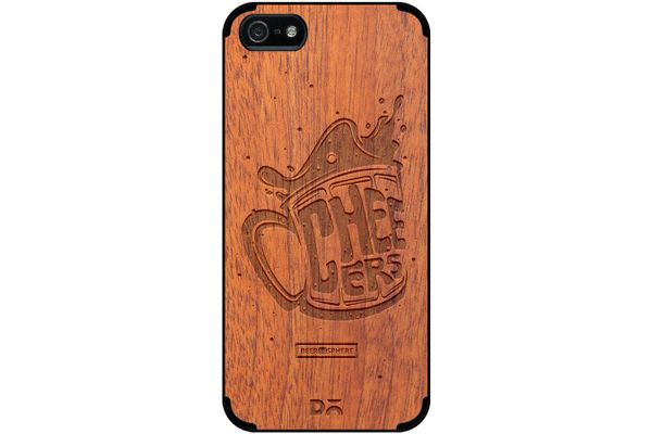 Life is BREWtiful Real Wood Sapele Case For iPhone 5/5S