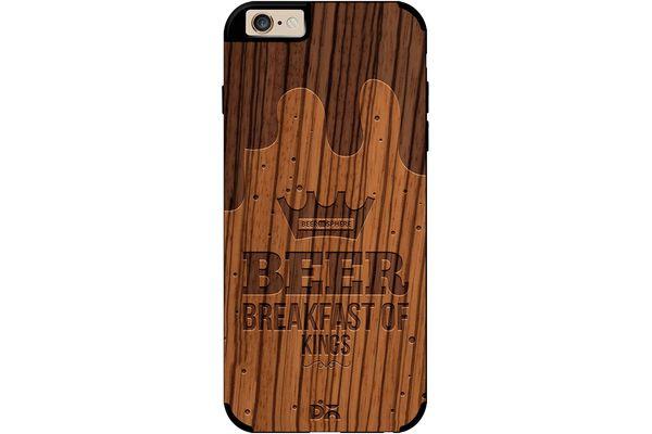 Beer BoK Real Wood Zebra Case For iPhone 6