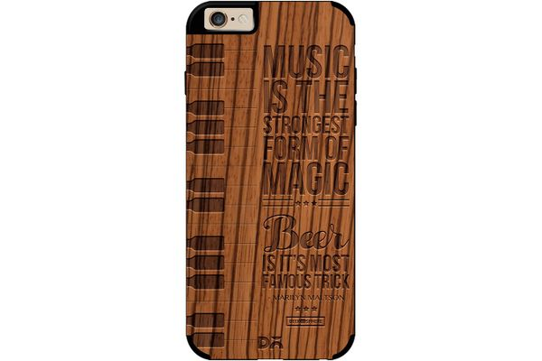 Beer Magic Real Wood Zebra Case For iPhone 6