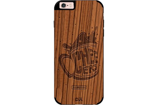 Life is BREWtiful Real Wood Zebra Case For iPhone 6S