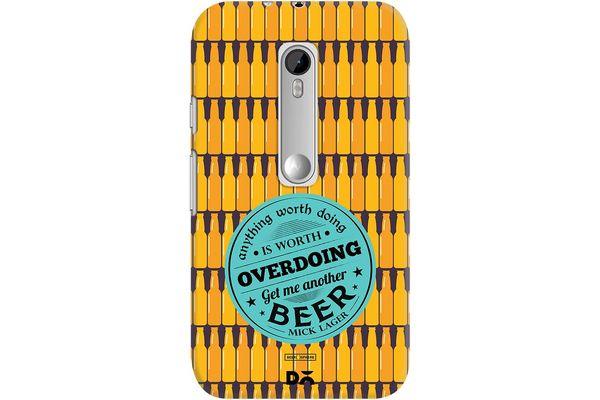 Another Beer Case For Motorola Moto G3