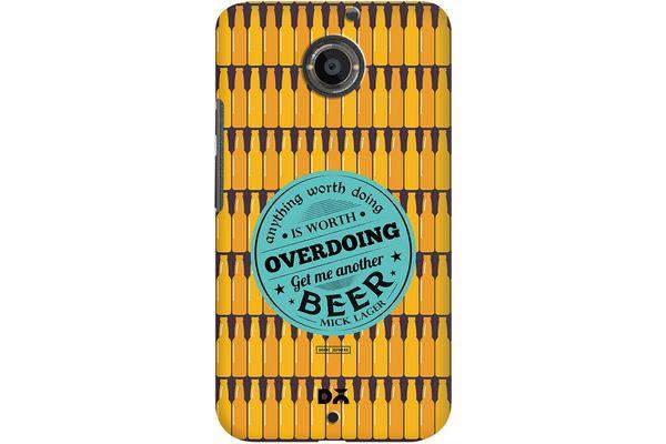 Another Beer Case For Motorola Moto X2