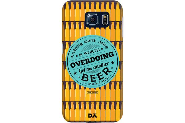Another Beer Case For Samsung Galaxy S6