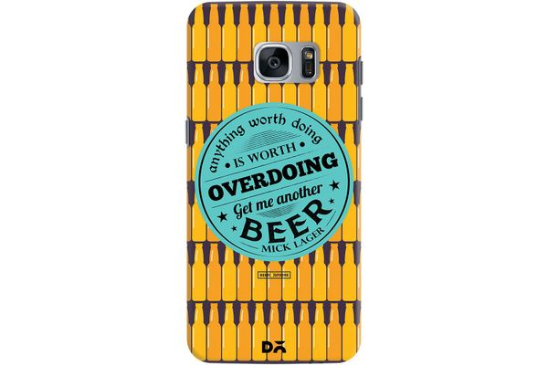 Another Beer Case For Samsung Galaxy S7 Edge