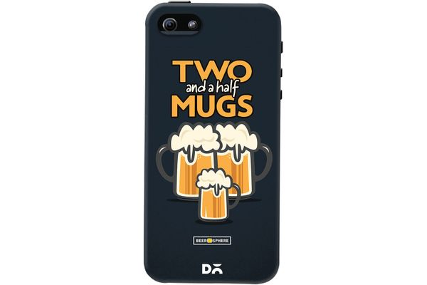 Beer 2.5 Mugs Case For iPhone 5/5S