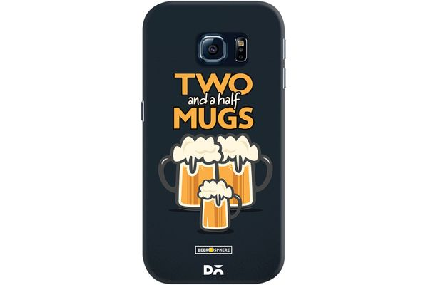 Beer 2.5 Mugs Case For Samsung Galaxy S6 Edge