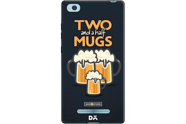 Beer 2.5 Mugs Case For Xiaomi Mi 4i
