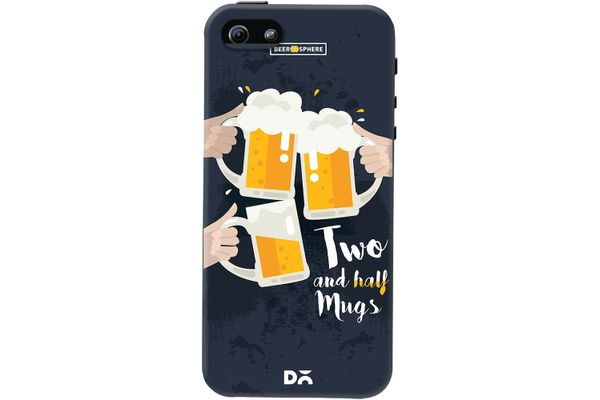 Beer 2.5 Mugs Clink Case For iPhone 5/5S