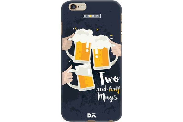 Beer 2.5 Mugs Clink Case For iPhone 6 Plus