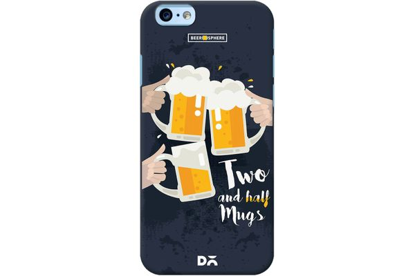 Beer 2.5 Mugs Clink Case For iPhone 6