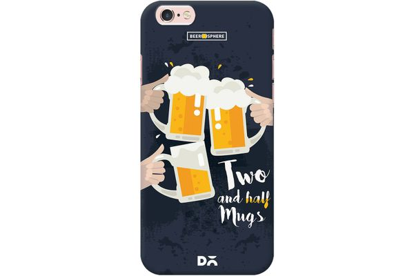 Beer 2.5 Mugs Clink Case For iPhone 6S