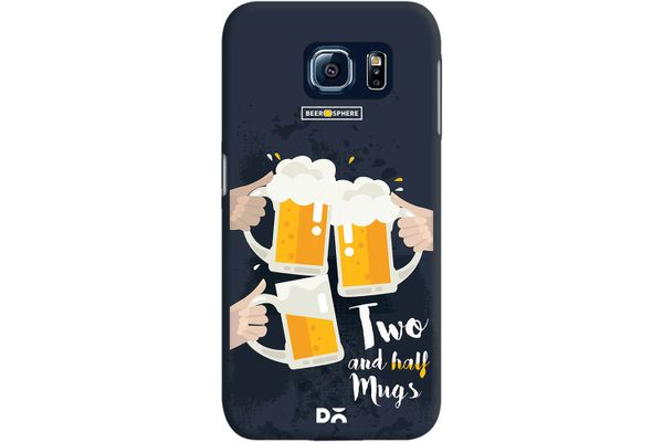 Beer 2.5 Mugs Clink Case For Samsung Galaxy S6