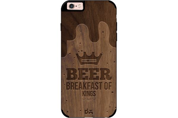 Beer BoK Real Wood Maple Case For iPhone 6S