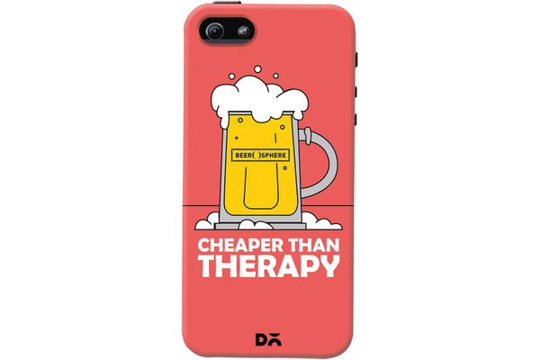 Beer Cheap Therapy Case For iPhone 5/5S