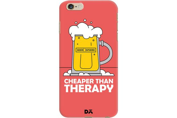 Beer Cheap Therapy Case For iPhone 6 Plus