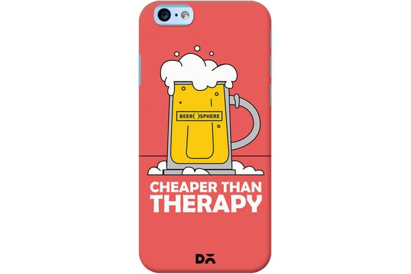 Beer Cheap Therapy Case For iPhone 6