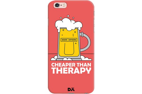 Beer Cheap Therapy Case For iPhone 6S Plus