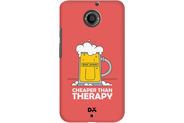 Beer Cheap Therapy Case For Motorola Moto X2