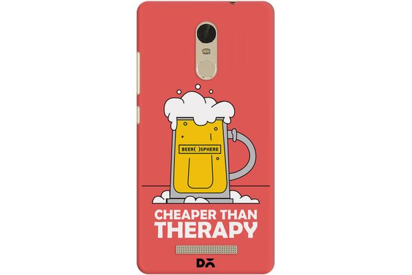 Beer Cheap Therapy Case For Xiaomi Redmi Note 3