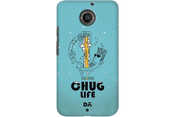 Beer Chug Life Case For Motorola Moto X2