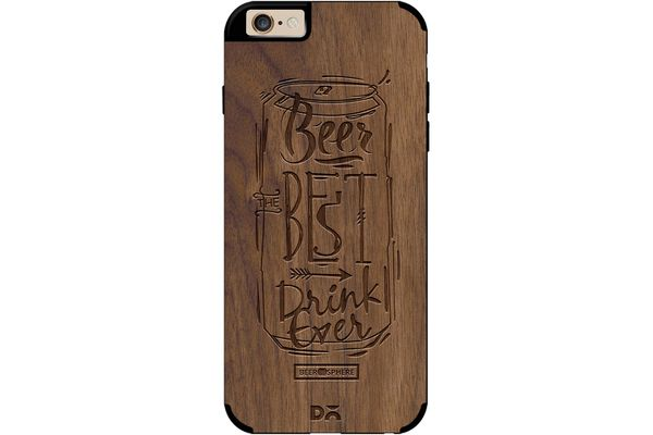 Beer Da Best Real Wood Maple Case For iPhone 6