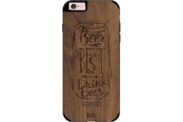 Beer Da Best Real Wood Maple Case For iPhone 6S