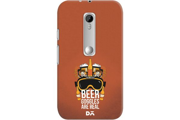 Beer Goggles Real Case For Motorola Moto G3