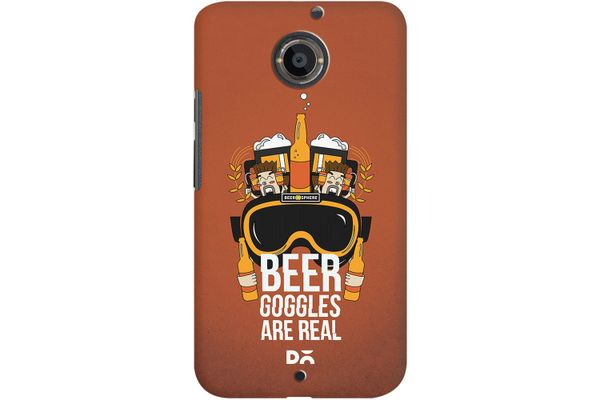 Beer Goggles Real Case For Motorola Moto X2