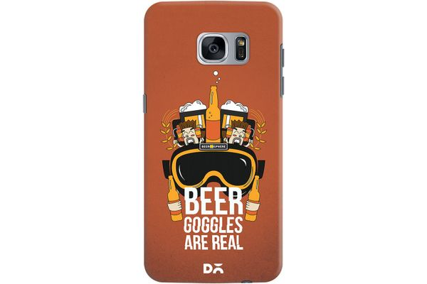 Beer Goggles Real Case For Samsung Galaxy S7