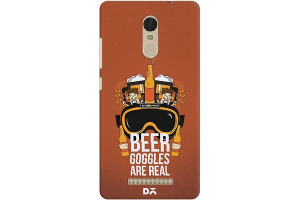 Beer Goggles Real Case For Xiaomi Redmi Note 3
