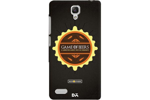 Beer GoT Case For Xiaomi Redmi Note 4G