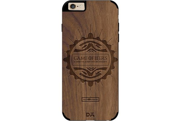 Beer GoT Real Wood Maple Case For iPhone 6