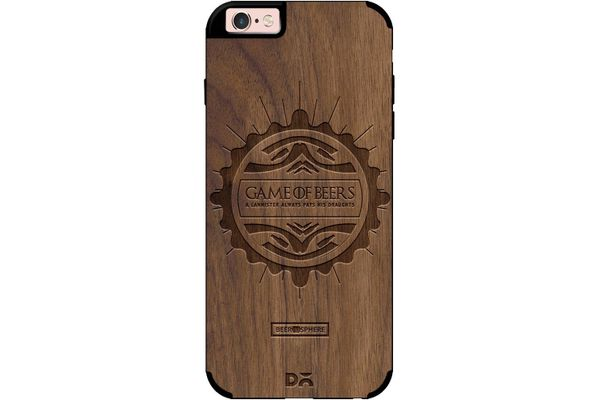 Beer GoT Real Wood Maple Case For iPhone 6S