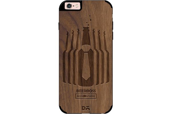 Beer Iz Boss Real Wood Maple Case For iPhone 6S