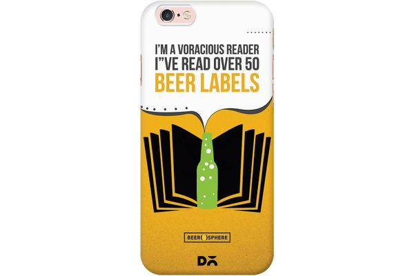 Beer Labels Case For iPhone 6S