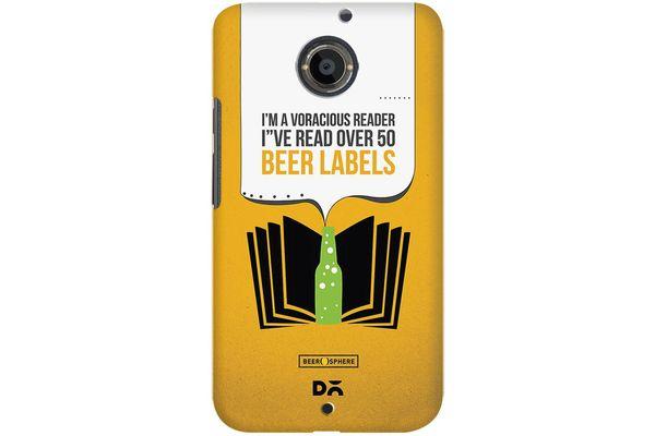 Beer Labels Case For Motorola Moto X2