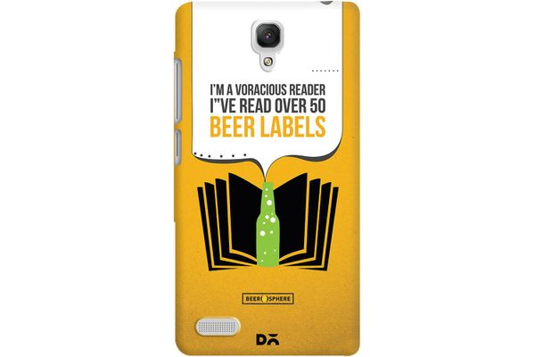 Beer Labels Case For Xiaomi Redmi Note 4G