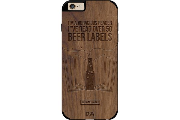Beer Labels Real Wood Maple Case For iPhone 6