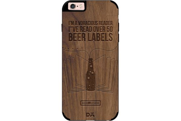 Beer Labels Real Wood Maple Case For iPhone 6S