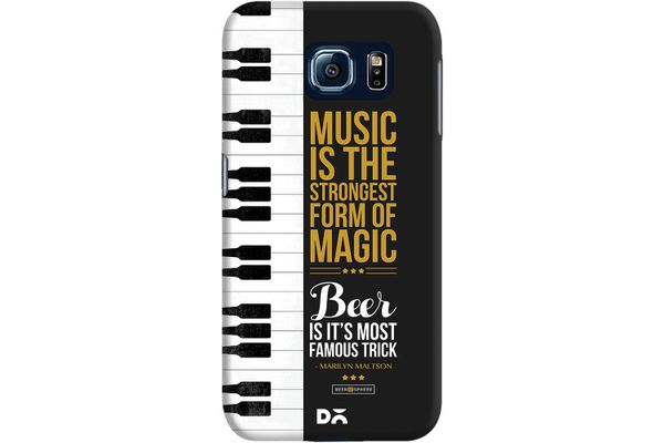 Beer Magic Case For Samsung Galaxy S6