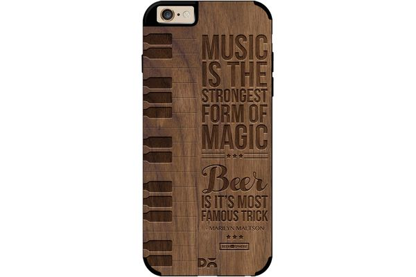 Beer Magic Real Wood Maple Case For iPhone 6