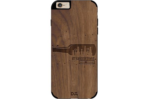 Beer O'Clock Real Wood Maple Case For iPhone 6
