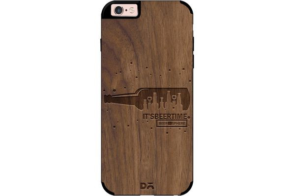 Beer O'Clock Real Wood Maple Case For iPhone 6S