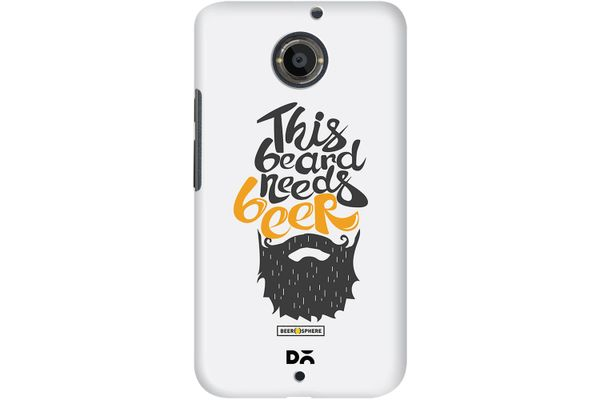 Beer Shampoo Case For Motorola Moto X2