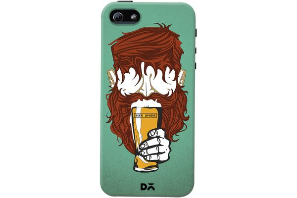 Beer Sphere Beard Case For iPhone 5/5S