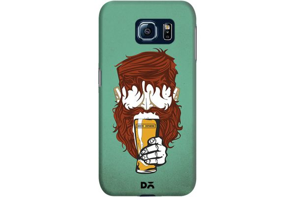 Beer Sphere Beard Case For Samsung Galaxy S6