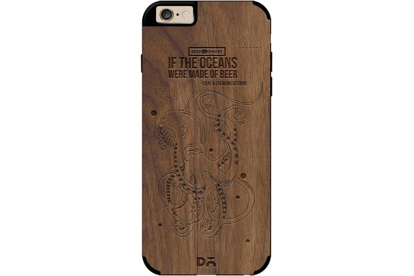 Beer topus Real Wood Maple Case For iPhone 6