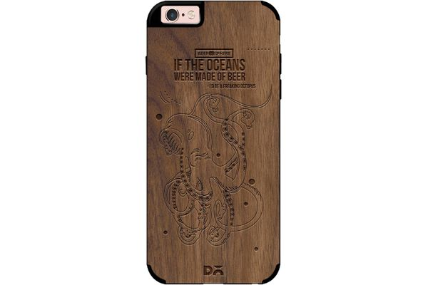 Beer topus Real Wood Maple Case For iPhone 6S