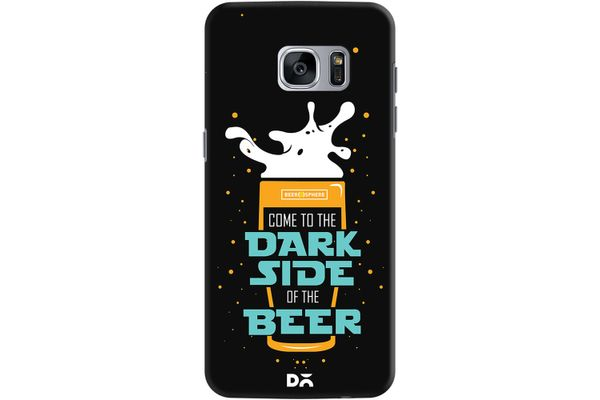 Dark Beer Rules Case For Samsung Galaxy S7 Edge