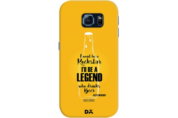Legends of Beer Case For Samsung Galaxy S6 Edge